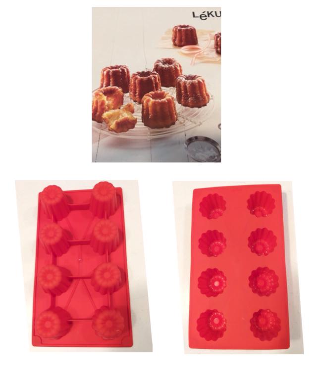 Lékué - Stampo Bordelais / canneles 8 cavità