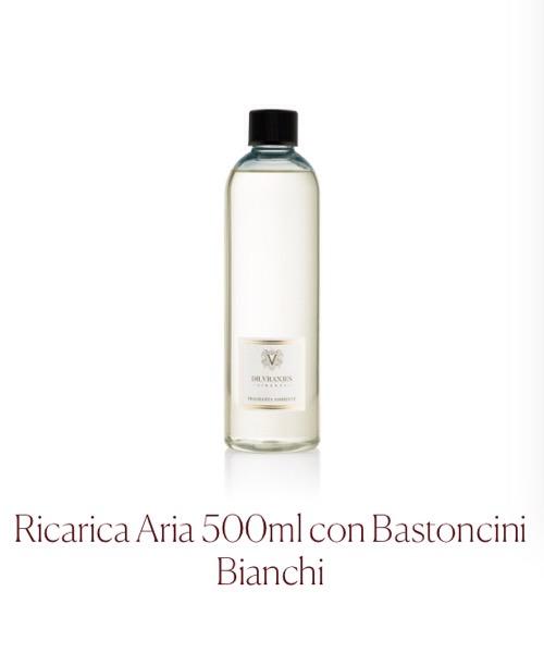 Fragranza d'ambiente Aria Ricarica  Dr.Vranjes Firenze con Bastoncini Bianchi