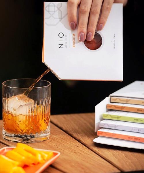 Nio Cocktails Yuzu Matcha Gin Sour