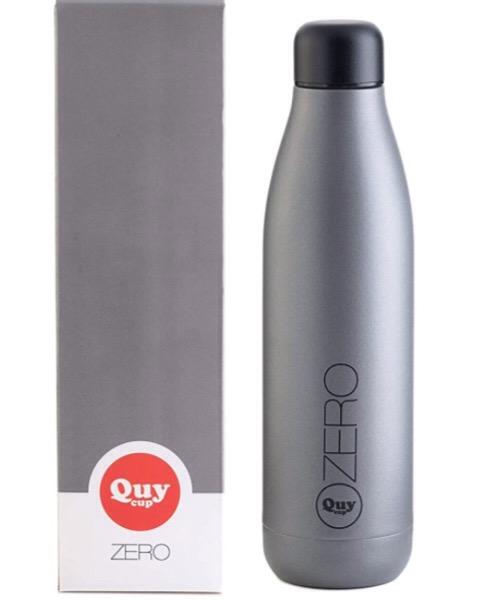 QUY CUP Zero 500ml. Thermos in Acciaio Inossidabile. Grigio